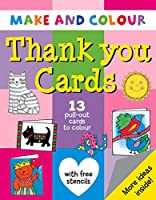 Make and Colour Thank You Cards (Make & Colour)