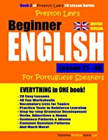Preston Lee's Beginner English Lesson 21 40 for Portuguese Speakers (British)