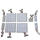 ハイエース 200 系 グランドキャビン FLUX LED ルーム ランプ ・ ナンバー 灯 9点 セット