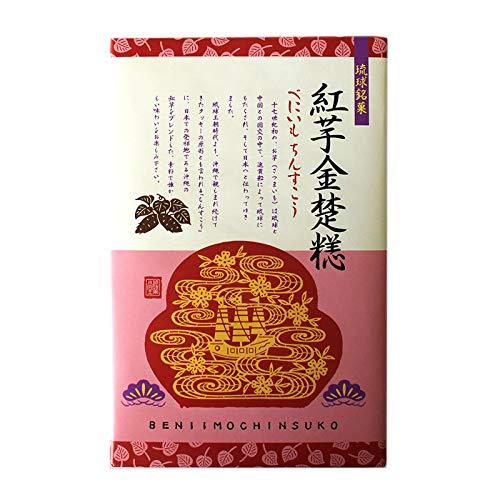 紅芋ちんすこう 24個入×3箱 優菓堂 沖縄の紅芋をブレンドした素朴で懐かしい味わいを