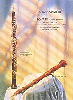 """VIVALDI - Sonata en Sol menor Op.13 nコ 6 de """"Il Pastor Fido"""" para Flauta (Oboe) y Piano (Walter)"""