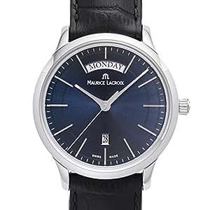 モーリスラクロア メンズ 腕時計 レ・クラシック デイデイト LC1007 クォーツ SS/革ベルト Maurice Lacroix ・電池式・PT6158-SS001 【並行輸入品】
