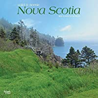2019 Nova Scotia Wyman Wall Calendar, by BrownTrout [並行輸入品]