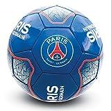 パリ・サンジェルマン フットボールクラブ Paris Saint Germain FC オフィシャル商品 サッカーボール (Size 5) (ブルー/レッド/ホワイト)