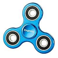 Xingmeng 指スピナー ハンドスピナー 重量感フォーカス玩具手 使用材料で作った 新しい合金 精密 超高耐久性 3~6分平均回転