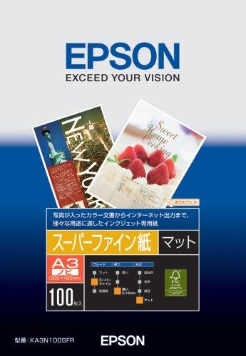 スーパーファイン紙 A3 ノビ 100枚 KA3N100SFR