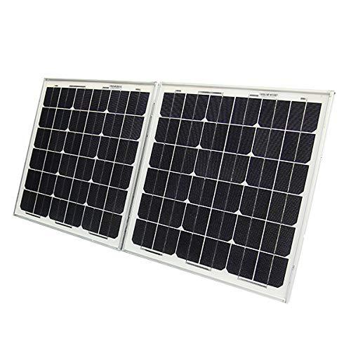 ソーラーパネル 太陽光パネル 折り畳み式 50W パネルのみ...
