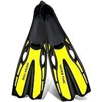イエロー大人のダイビングシューズスキューバギアスイミングスノーケリングダイビングスイミングサーフに適用3サイズオプション