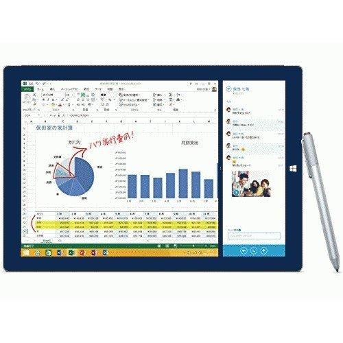 マイクロソフト Surface Pro 3 サーフェス プロ(Core i3/64GB) 単体モデル Windowsタブレット 4YM-00015 (シルバー)
