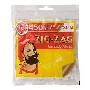 柘製作所(tsuge) ジグザグ スリムフィルター 450 【約450個入り】