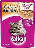 カルカン パウチ スープ仕立て 1歳から チキン入り味わいお魚 70g×16個入り
