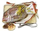 御祝用 お食い初め 敬老の日 天然鯛の塩焼き 国産250gと高級地ハマグリ(千葉産)500gのセット (築地直送)タイ 長寿祝い 鯛 日時指定可 メッセージ可【祝鯛250g+地ハマ0.5K】