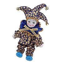 4カラー選択 柔軟性 トライアングルドール インテリア飾り 置き物 16cmドール人形 おもちゃ 磁器製 - #3