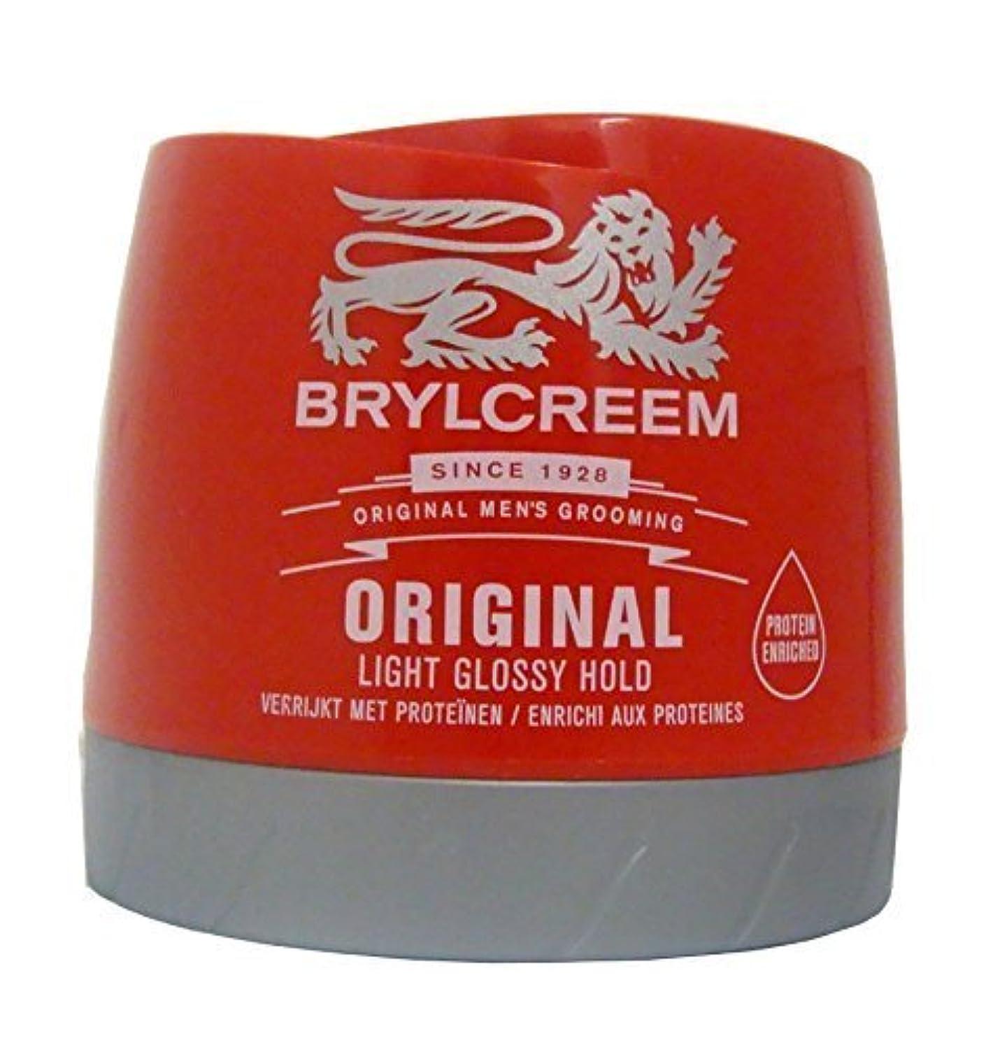 ふける常識反響するBrylcreem Original Red Hair Cream - 250 ml by Sara Lee [並行輸入品]