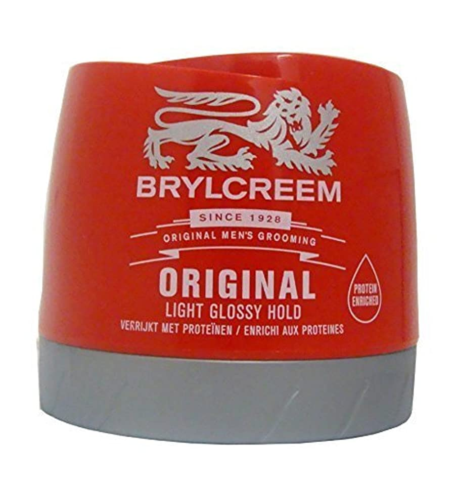 不承認表面社会学Brylcreem Original Red Hair Cream - 250 ml by Sara Lee [並行輸入品]