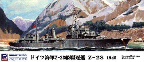 1/700 独海軍 駆逐艦 Z-28 ホワイトメタル製Do X付 (ML12)