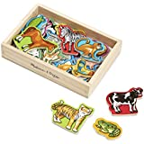 Melissa & Doug 20 Wooden - Magnets in a Box