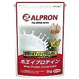 ホエイプロテイン カフェオレ 1kg アルプロン