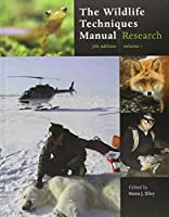 The Wildlife Techniques Manual: (Volume 1: Research/ Volume 2: Management) by Unknown(2012-02-07)