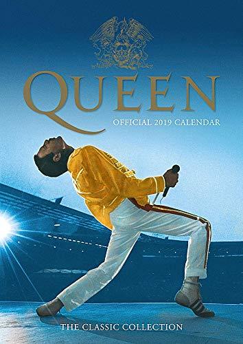 ボヘミアン・ラプソディ11月公開記念 QUEEN クイーン - Official 2019 Calendar/カレンダー 【公式/オフィシャル】