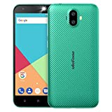 Ulefone S7 (2+16) スマホ simフリー au不可 MediaTekMT6580A 3G 4コア 1.3GHz 2GB+16GB 2500mAh 5.0-inch HD 13MP+5MP Android 7.0 Softlight LED flash GSM WCDMA 黒 金 赤 緑 (緑, (2G+16G))