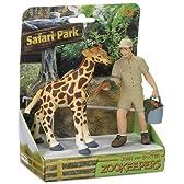 Safari Ltd Safari Land John and Baxter Zookeeper by Safari [並行輸入品]