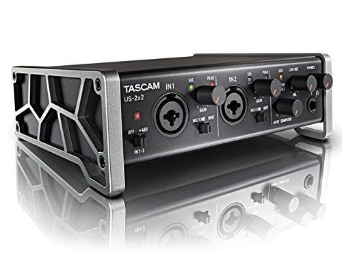 TASCAM オーディオMIDIインターフェース 2入力2出力 US-2x2-SC