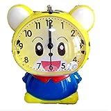 Oscar-papa(オスカーパパ)目覚まし 時計 置時計 動物 パンダ トラ ウサギ 電子ベル メロディー ライト付き (黄トラ)