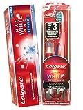 Kit Colgate Max White - The Optic White Toothbrush + Whitening Pen + Colgate Max White One Optic Toothpaste 75 ml by Colgate P..