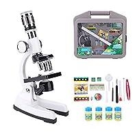 Diocheの生物顕微鏡、子供のための生物学顕微鏡1200X倍率セット