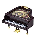 ammoon 機械 ピアノオルゴール 音楽ボックス アリスのため 子供 リズム 知育玩具 装飾 メロディー 贈り物 ギフト