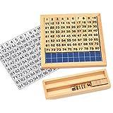 モンテッソーリ教具 教材 100並べセット 木製 算數 學習 おもちゃ 勉強 知育玩具 幼児早期教育 おもちゃ