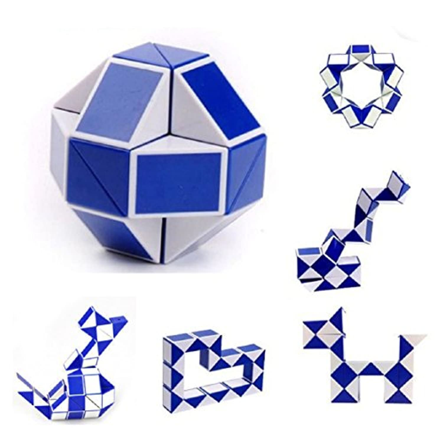 Coerni Premium 1PC Educational Magic Twist Snake Cube Toy for Adult and Children