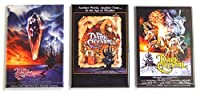 ダーククリスタルの映画ポスター冷蔵庫マグネットセット(2.5X 3.5インチ各)