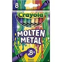 Crayola Meltdown Crayons 8/Pkg-Molten Metal (並行輸入品)