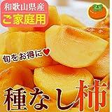 和歌山のたねなし柿 約4kg(刀根早生柿)