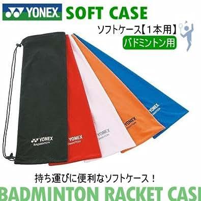 [ヨネックス] YONEX バドミントン ラケット用 ソフトケース(1本用)【バドミントン/ラケット用ケース】 001 R(レッド) [ウェア&シューズ]
