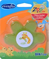Evenflo Zoo Friends Chewy Soother Paw [並行輸入品]