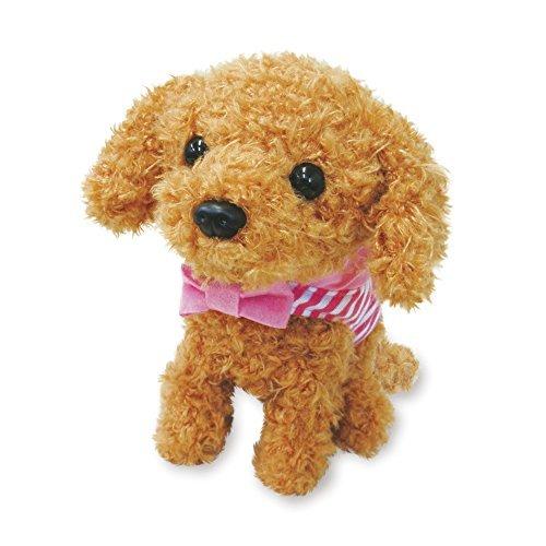 動くぬいぐるみ 犬 動くおもちゃ 鳴く 犬のぬいぐるみ かわいい よびかけアクション愛犬モカちゃん 6C181