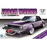 1/24 リバティーウォークシリーズ No.1 ニッサン スカイライン ジャパン 4Dr プラモデル