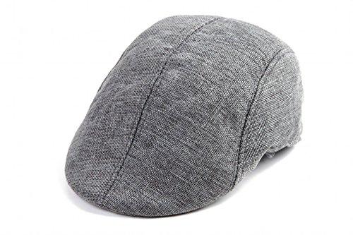[NET-O] 秋 ハンチング メンズ レディース ユニセックス ゴルフ帽子 プレゼント 父の日 COOLメッシュタイプ 無地 Tシャツ 1枚で決まる  5カラー (グレー)