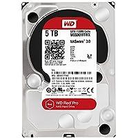 WD HDD 内蔵ハードディスク 3.5インチ 5TB WD Red Pro WD5001FFWX SATA3.0 7200rpm 128MB 5年保証
