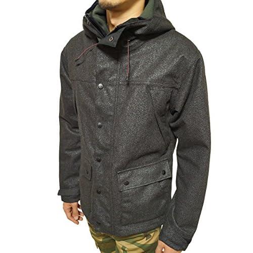 (ジーアールエヌ) grn マウンテンジャケット マルチプロテック加工 マウンテンパーカー ウール混 ブラック:1(S)