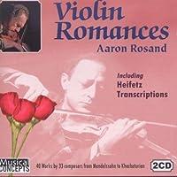 Aaron Rosand Plays Violin Romances & Heifetz Transcriptions by Aaron Rosand (2011-05-17)