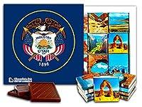 """DA CHOCOLATE キャンディ スーベニア """"UTAH """" UTAH チョコレートセット 5×5一箱 (Flag)"""