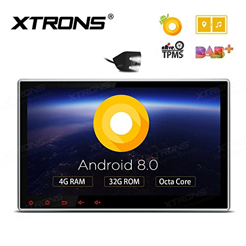 XTRONS 10.1インチAndroid 8.0Octa...