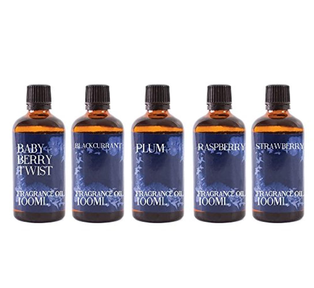 穴グラムトリッキーMystic Moments | Gift Starter Pack of 5 x 100ml - Wild Fruits - Fragrant Oil