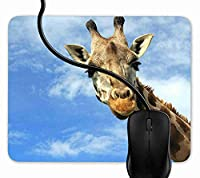 マウスパッド クールキリン, 疲労低減 ワイヤレスマウスパッド 耐久性が良い 滑り止めゴム底 滑りやすい表面 マウス用パット 1F1566