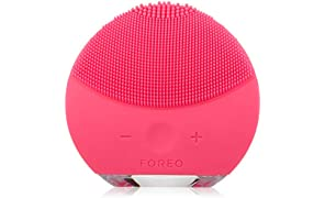 FOREO Luna Mini 2 Facial Cleansing Brush, Fuchsia, 204g