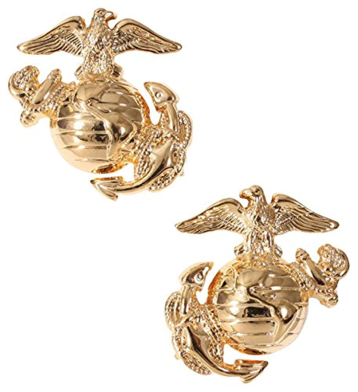 ロスコ ネジバッジ 海兵隊 紋章 2個 1548